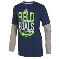 Adidas Little Boys' Field Goals Hangdown Tee from Blain's Farm and Fleet