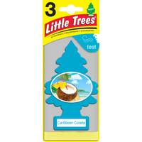 Little Trees Caribbean Colada Air Freshener - 3 Pack from Blain's Farm and Fleet