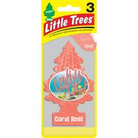 Little Trees Tropical Shores Air Freshener - 3 Pack from Blain's Farm and Fleet