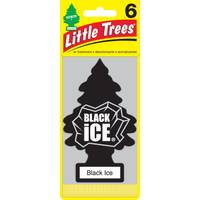 Little Trees Black Ice Air Freshener - 6 Pack from Blain's Farm and Fleet