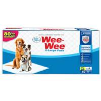 Four Paws Extra Large Wee-Wee Pads - 40 Pack from Blain's Farm and Fleet