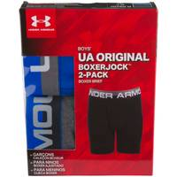 Under Armour Boys' Performance Boxer Briefs - 2 Pack from Blain's Farm and Fleet