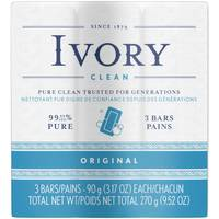Simply Ivory 3 Bar Soap from Blain's Farm and Fleet