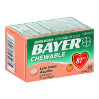 Bayer Low Dose Chew Orange from Blain's Farm and Fleet
