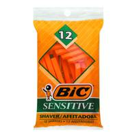 BIC Single Blade Disposable Sensitive Shaver - 12 Pack from Blain's Farm and Fleet
