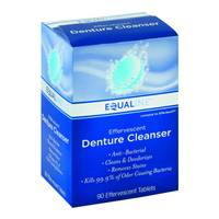 Equaline 90ct Denture Cleanser Tabs from Blain's Farm and Fleet