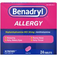 Benadryl Allergy Ultratab from Blain's Farm and Fleet