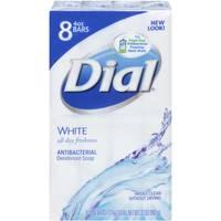 Dial White Antibacterial Soap Bars from Blain's Farm and Fleet