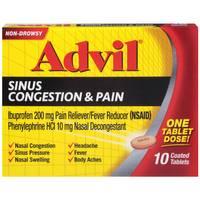 Advil Sinus Congestion & Pain Relief from Blain's Farm and Fleet