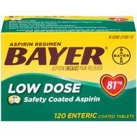 Bayer Low Dose 81mg Asprin from Blain's Farm and Fleet