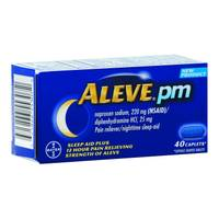 Aleve PM Pain Relief Caps from Blain's Farm and Fleet