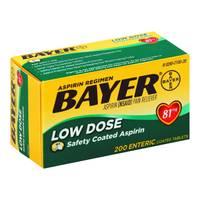 Bayer Low Dose 81mg Asprin from Blain's Farm and Fleet