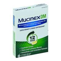 Mucinex Guaifenesin DM from Blain's Farm and Fleet