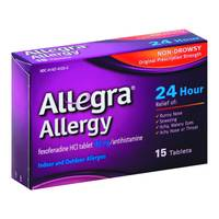 Allegra Allergy 24hr Tabs from Blain's Farm and Fleet