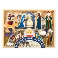Melissa & Doug Wooden Nativity Set from Blain's Farm and Fleet
