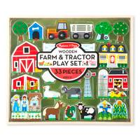 Melissa & Doug Wooden Farm & Tractor Play from Blain's Farm and Fleet