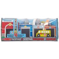 Melissa & Doug Nesting & Sorting Buildings & Vehicles from Blain's Farm and Fleet