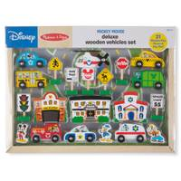 Melissa & Doug Mickey Deluxe Vehicles Set from Blain's Farm and Fleet