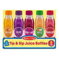 Melissa & Doug Tip & Sip Toy Juice Bottles from Blain's Farm and Fleet