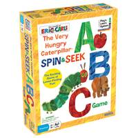 Briarpatch Very Hungry Catapillar Spin & Seek ABC Game from Blain's Farm and Fleet
