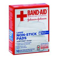 Band-Aid Large Non-Stick Pads from Blain's Farm and Fleet