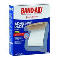 Band-Aid Large Adhesive Pads from Blain's Farm and Fleet