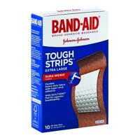 Band-Aid Tough Strips Extra Large Adhesive Bandages from Blain's Farm and Fleet