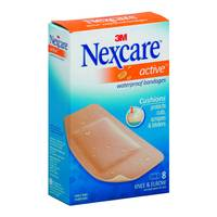 Nexcare Active Extra Cushion Waterproof Bandages from Blain's Farm and Fleet