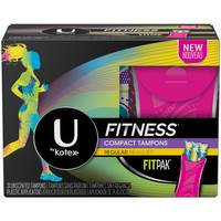 U by Kotex Fit Compact Regular Tampons from Blain's Farm and Fleet