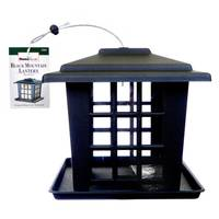 Homestead Homestead's Black Mountain Lantern Seed Feeder from Blain's Farm and Fleet