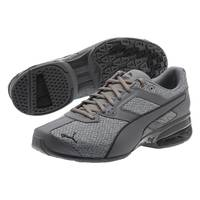 Puma Men's Grey Asphalt Tazon 6 Knit Running Shoes from Blain's Farm and Fleet