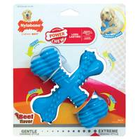 Nylabone Dura Chew X Bone Beef Flavor Dog Toy from Blain's Farm and Fleet