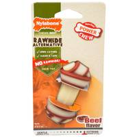 Nylabone Dura Chew Rawhide Alternative Knot Bone Dog Toy from Blain's Farm and Fleet