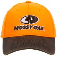 Outdoor Cap Mossy Oak Logo Blaze Orange Cap from Blain's Farm and Fleet