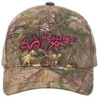 Outdoor Cap Ladies Realtree Logo Camouflage Cap from Blain's Farm and Fleet