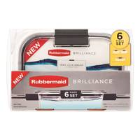 Rubbermaid Brilliance 6-Piece Set from Blain's Farm and Fleet