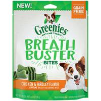 Greenies Chicken and Parsley Breath Buster Dog Bites from Blain's Farm and Fleet