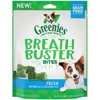 Greenies Fresh Breath Buster Dog Bites from Blain's Farm and Fleet