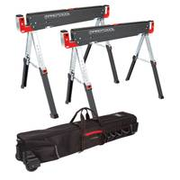 Protocol Equipment Adjustable Sawhorse & Roller Bag Combo from Blain's Farm and Fleet