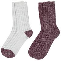 Huffman Hosiery Women's Microfiber Socks - 2 Pack from Blain's Farm and Fleet
