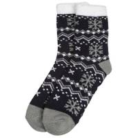 Huffman Hosiery Women's Double Layer Chevron With Snowflakes Socks from Blain's Farm and Fleet