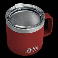 YETI Brick Red 14 oz Rambler Mug from Blain's Farm and Fleet