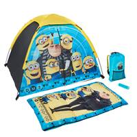 Exxel Outdoors Despicable Me 4-Piece Camping Kit from Blain's Farm and Fleet