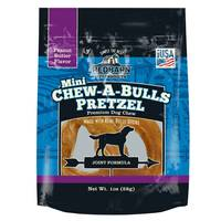 Red Barn Mini Chew-A-Bulls Pretzel Dog Chew from Blain's Farm and Fleet