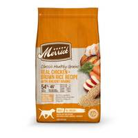 Merrick 25 lb Classic Real Chicken + Green Peas Recipe Dry Dog Food from Blain's Farm and Fleet
