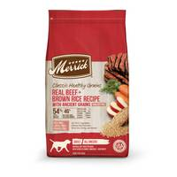 Merrick 25 lb Classic Real Beef + Green Peas Recipe Dry Dog Food from Blain's Farm and Fleet