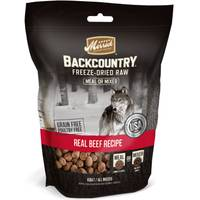 Merrick 5.5 oz Backcountry Beef Freeze Dried Meal Mixer from Blain's Farm and Fleet