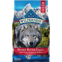 Blue Buffalo Wilderness Wilderness Snake River Grill Dog Food from Blain's Farm and Fleet