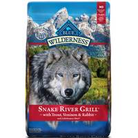 Blue Buffalo Wilderness 22 lb Wilderness Snake River Grill Dog Food from Blain's Farm and Fleet