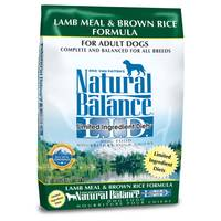Natural Balance Lamb Meal & Brown Rice Formula Dry Dog Food from Blain's Farm and Fleet
